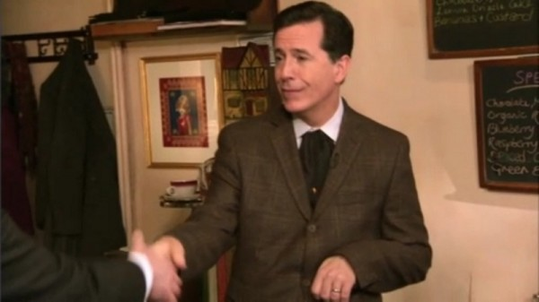 Stephen Colbert's amazing Queen impression and I don't mean Freddy
