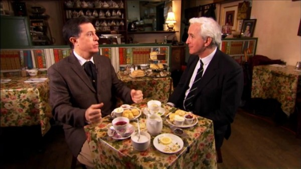 Stephen Colbert relates the story of his ancestor ghost who demanded he avenge his family's persecution by the English