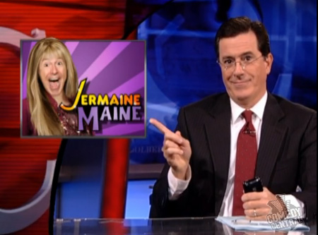 Stephen Colbert is Jermaine Maine
