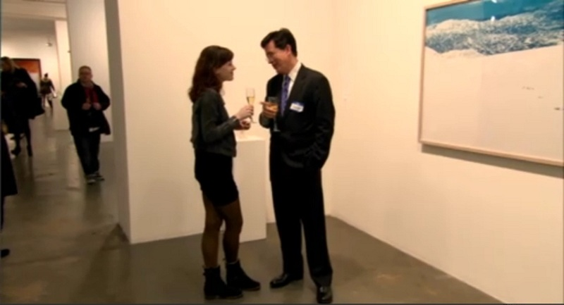 Stephen Colbert, Art Critic VI