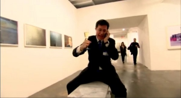 Stephen Colbert, Art Critic VII
