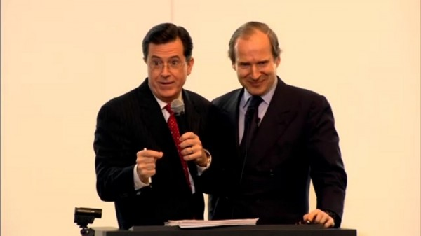 Stephen Colbert, Artist, Art Critic and Auctioneer