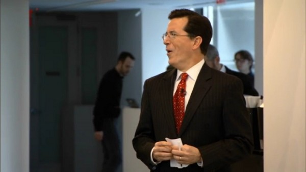 Stephen Colbert, Artist, Art Critic and Opening Bid Critic