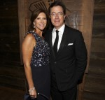 Evelyn McGee-Colbert and Stephen Colbert at the Comedy Central Emmy party -2010
