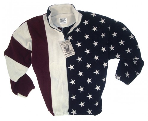 Old Glory Patriotic Pullover