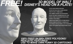 Disney Head-David OReilly