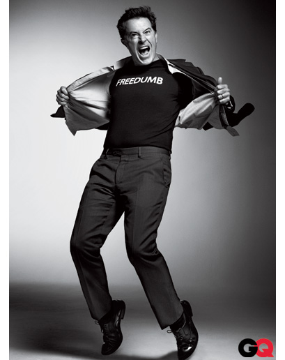 Stephen Colbert in GQ Magazine - December 2010