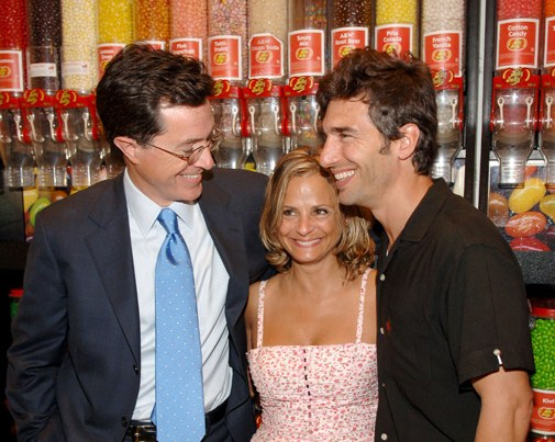 Stephen Colbert, Amy Sedaris and Paul Dinello