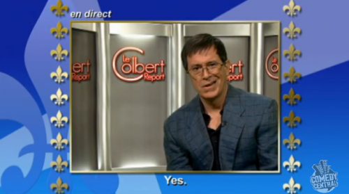 Stephen Colbert as Stephane Colbert