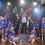 Stephen Colbert Jimmy Fallon Knicks City Dancers
