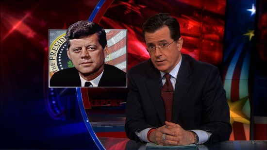 Stephen Colbert John F Kennedy