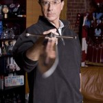 Stephen Colbert office sword