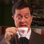 Stephen Colbert mocking the English